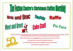 Christmas Coffee Morning - Sat  8th December 2018 | The