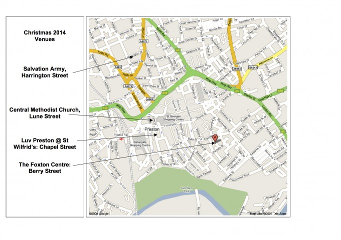 venues map for reverse of poster
